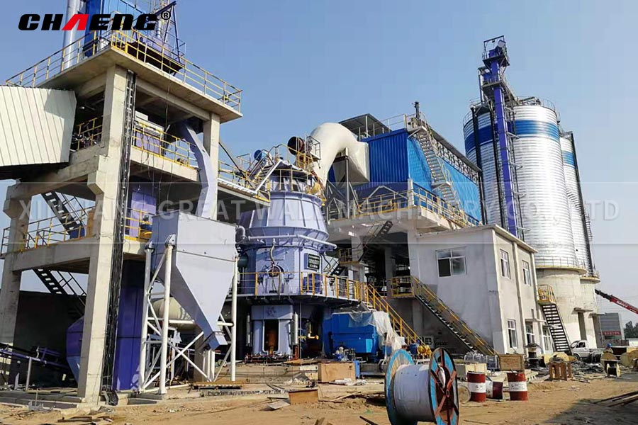 Steel slag production line