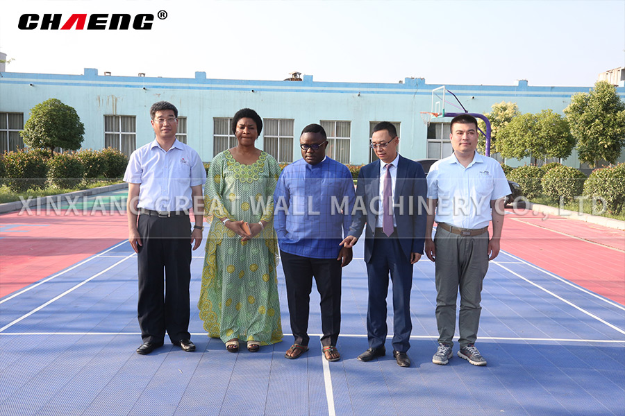 Nigerian governor and his wife visited CHAENG