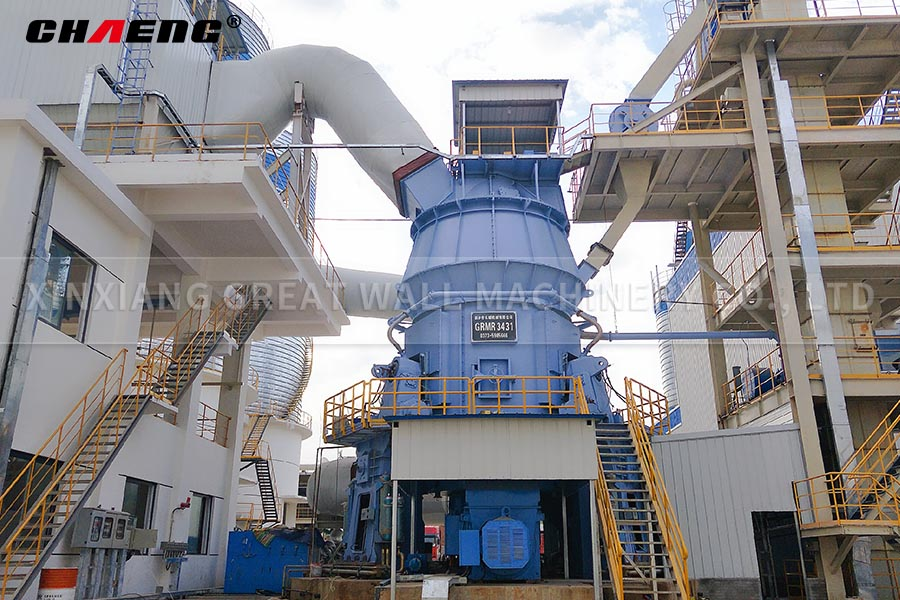 Limestone powder production line